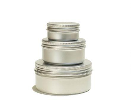 reusable aluminum jar