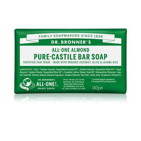 Dr. Bronners Almond Pure-Castile Bar Soap