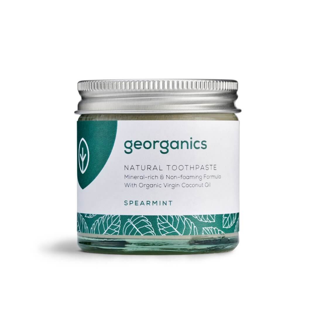 georganics natural toothpaste spearmint