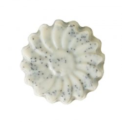 Facial Scrub Soap Poppy Seed & Verbena