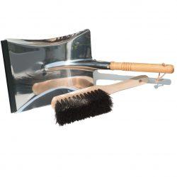 Plastic free dustpan & hand brush