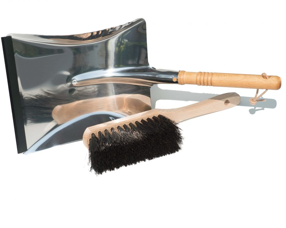 Plastic free dustpan & hand brush