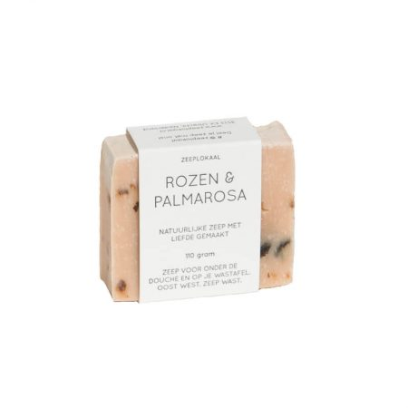Zeeplokaal Rozen & Palmarosa Hand and Body Soap