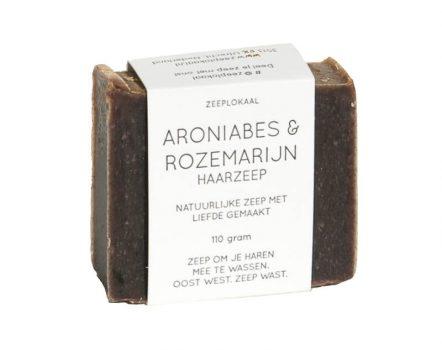 Zeeplokaal Shampoo Bar Aroniabes & Rozemarijn
