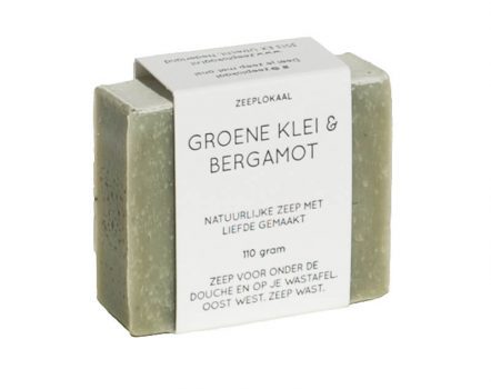 Zeeplokaal Green Clay & Bergamot Soap