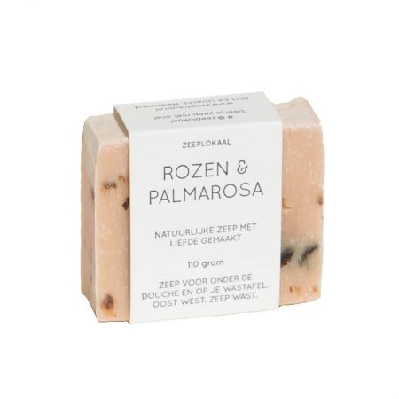Zeeplokaal Rose & Palmarosa Soap Bar