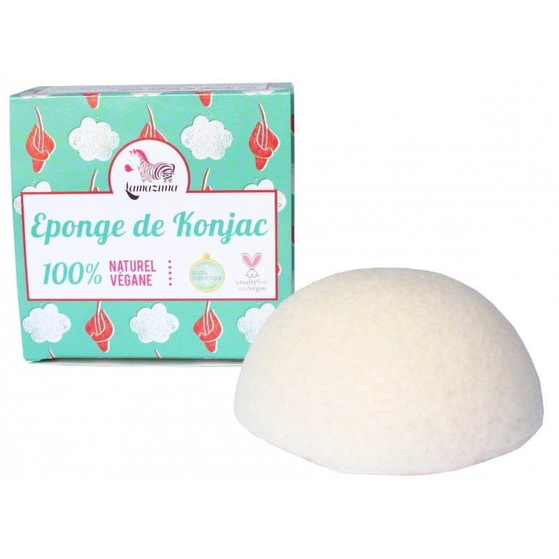 Lamazuna: Konjac sponge: Vegan sponge for your face