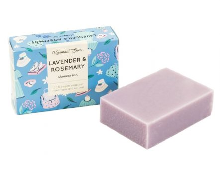 Lavender & Rosemary Shampoo Bar Helemaal Shea