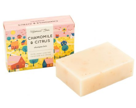 ShampooBar for Blond Hair and extra Shine Chamomile Citrus Helemaal Shea