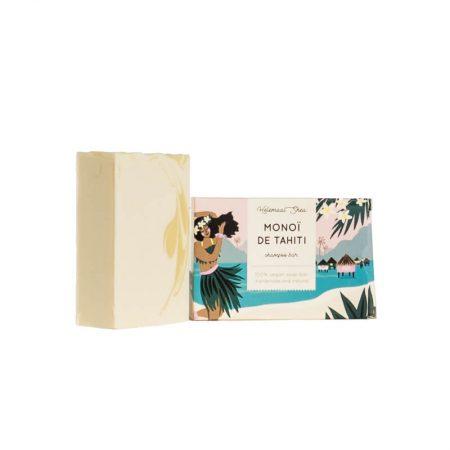 HelemaalShea shampoo bar Monoï de Tahiti