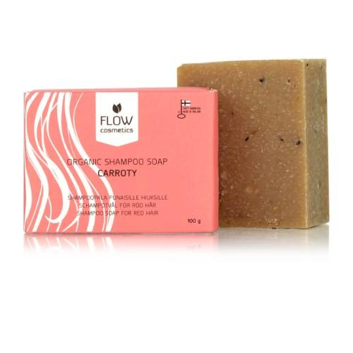 Flow Cosmetics Carroty Shampoo Bar