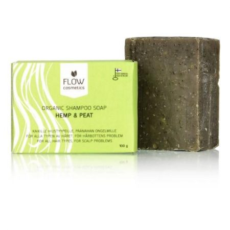 Flow Cosmetics Shampoo Bar Hemp & Peat