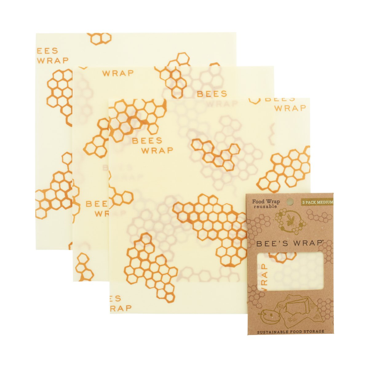 Bee's Wrap 3 pack Medium