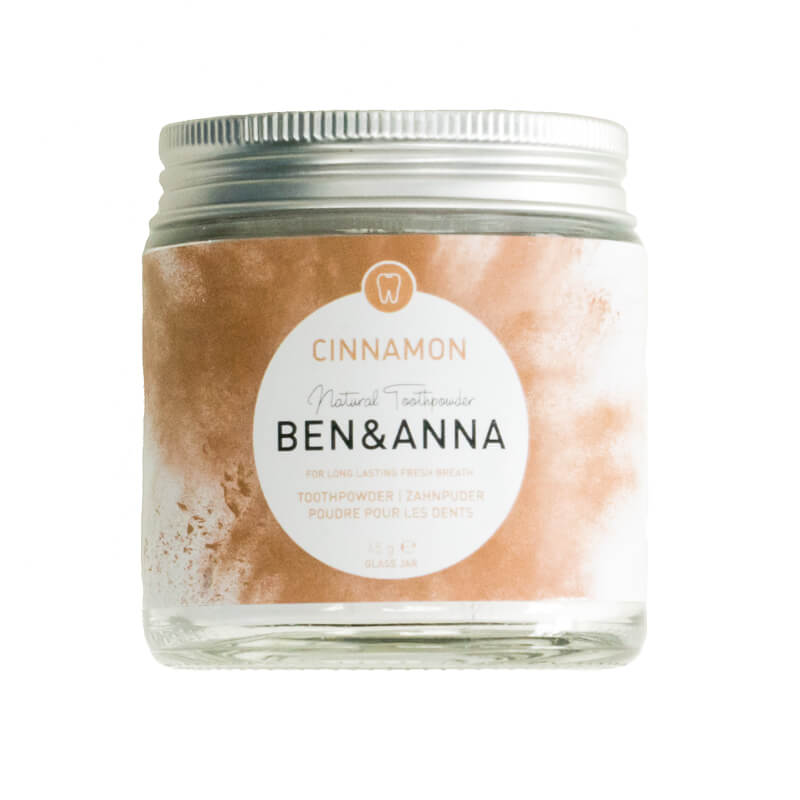 Ben & Anna Toothpowder for fresh breath Cinnamon