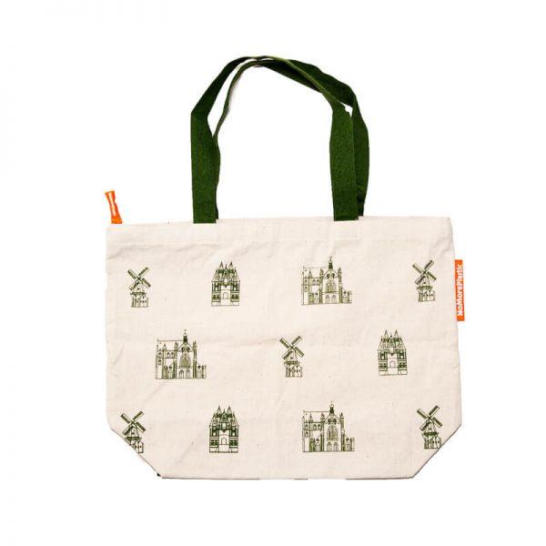 Big shopper bag with Haarlem print