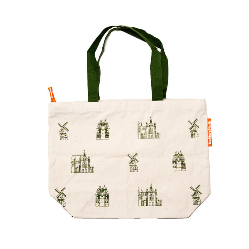 Big shopper bag with Haarlem print