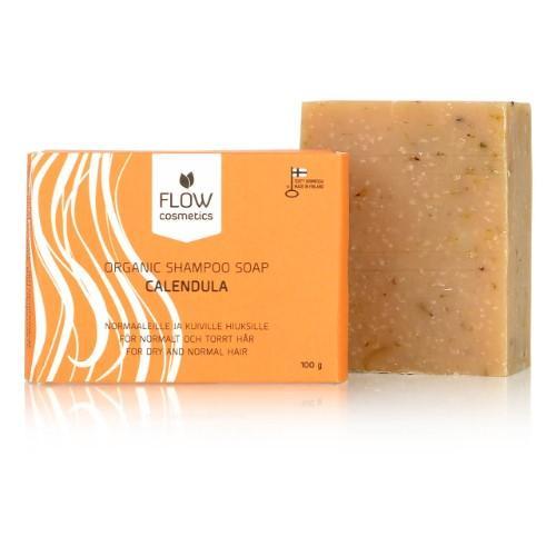 Flow Cosmetics Calendula Shampoo Bar