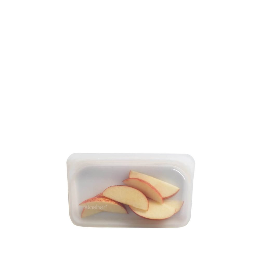 Stasher Bag Snack Size Clear