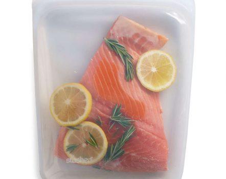 Stasher Bag Large with Salmon