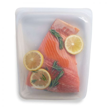 Stasher Bag Large with Salmon