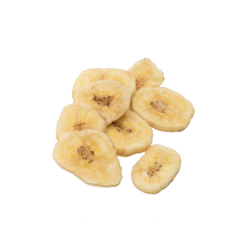 biologische bananenchips