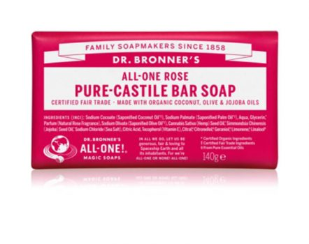 Dr. Bronner Rose Soap Bar