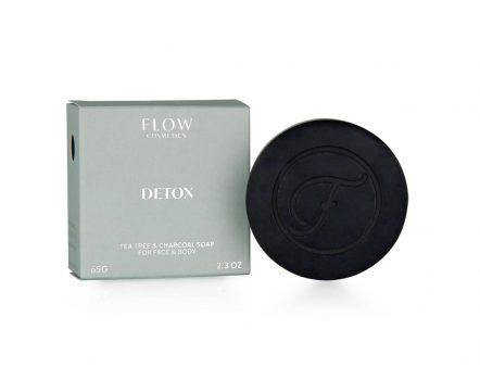 Facial soap - detox - flow cosmetics