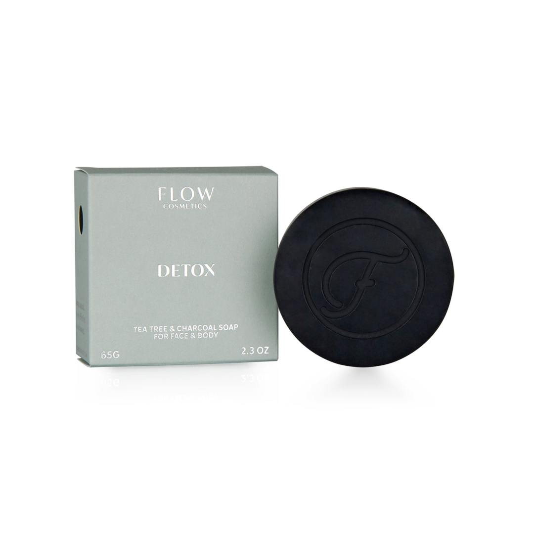 Facial soap - detox - flow cosmetics