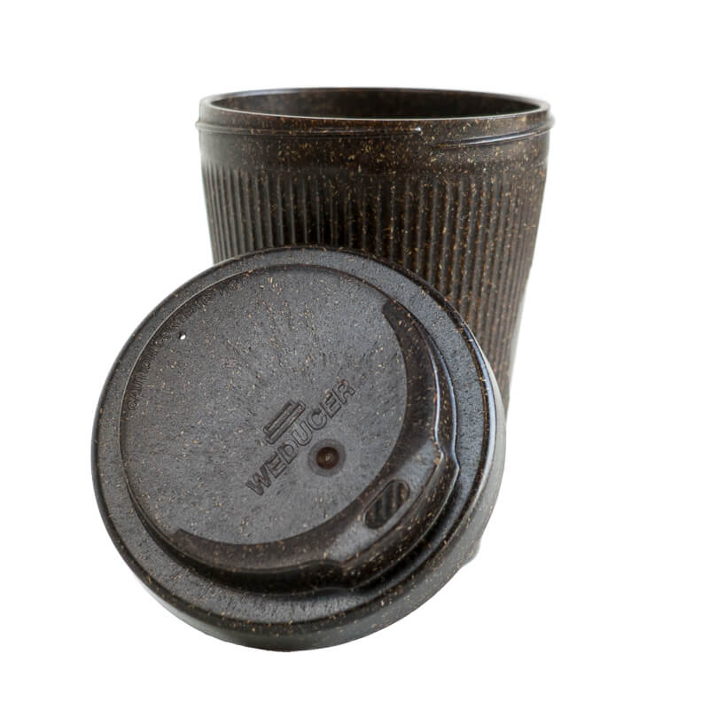 Weducer coffee cup