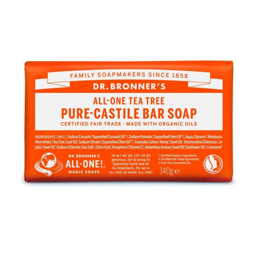 Dr. Bronner All-One Tea Tree Soap Bar