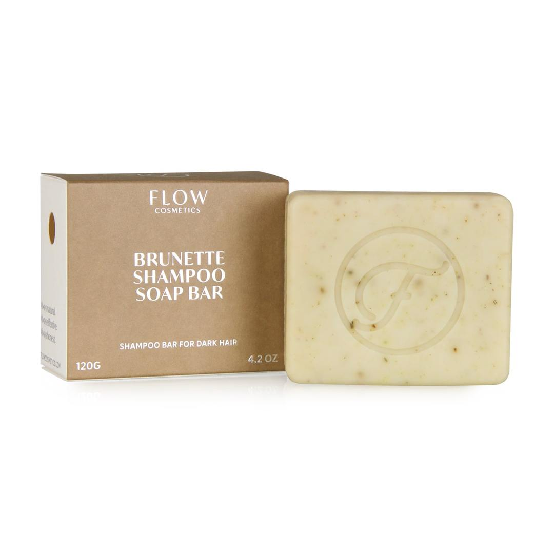Shampoo Bar Brunette For Dark Hair - Flow Cosmetics