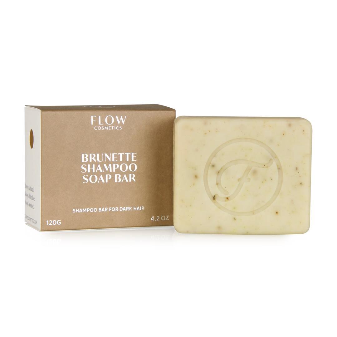 Shampoo Bar Brunettevoor donker haar - Flow Cosmetics