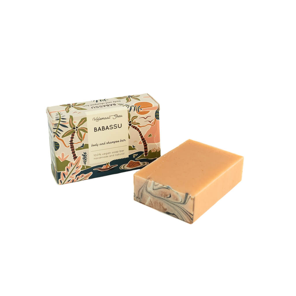 Babassu soap - body and shampoo bar