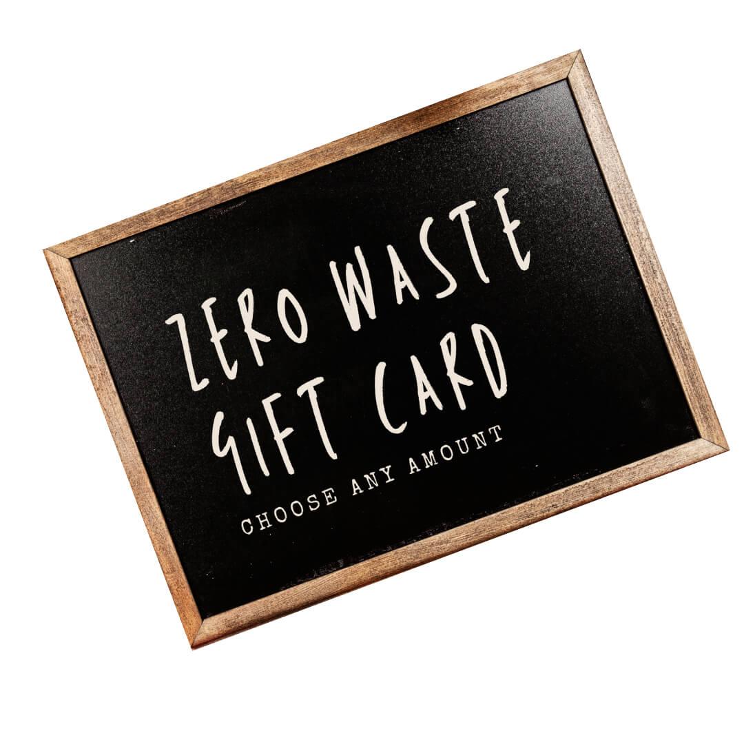 zero waste gift card