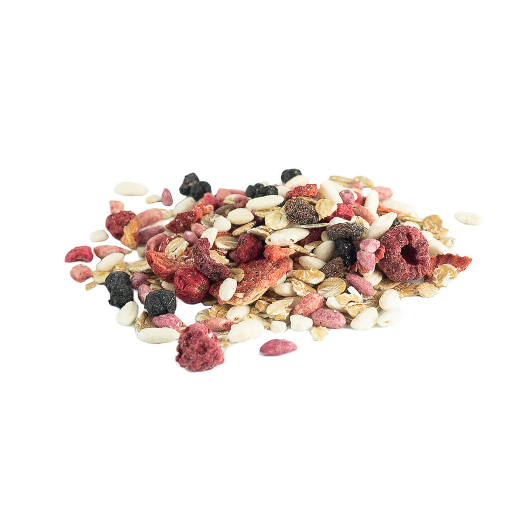 Muesli Strawberry & Raspberry