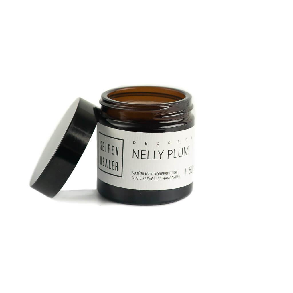Natural Cream Deodorant Nelly Plum