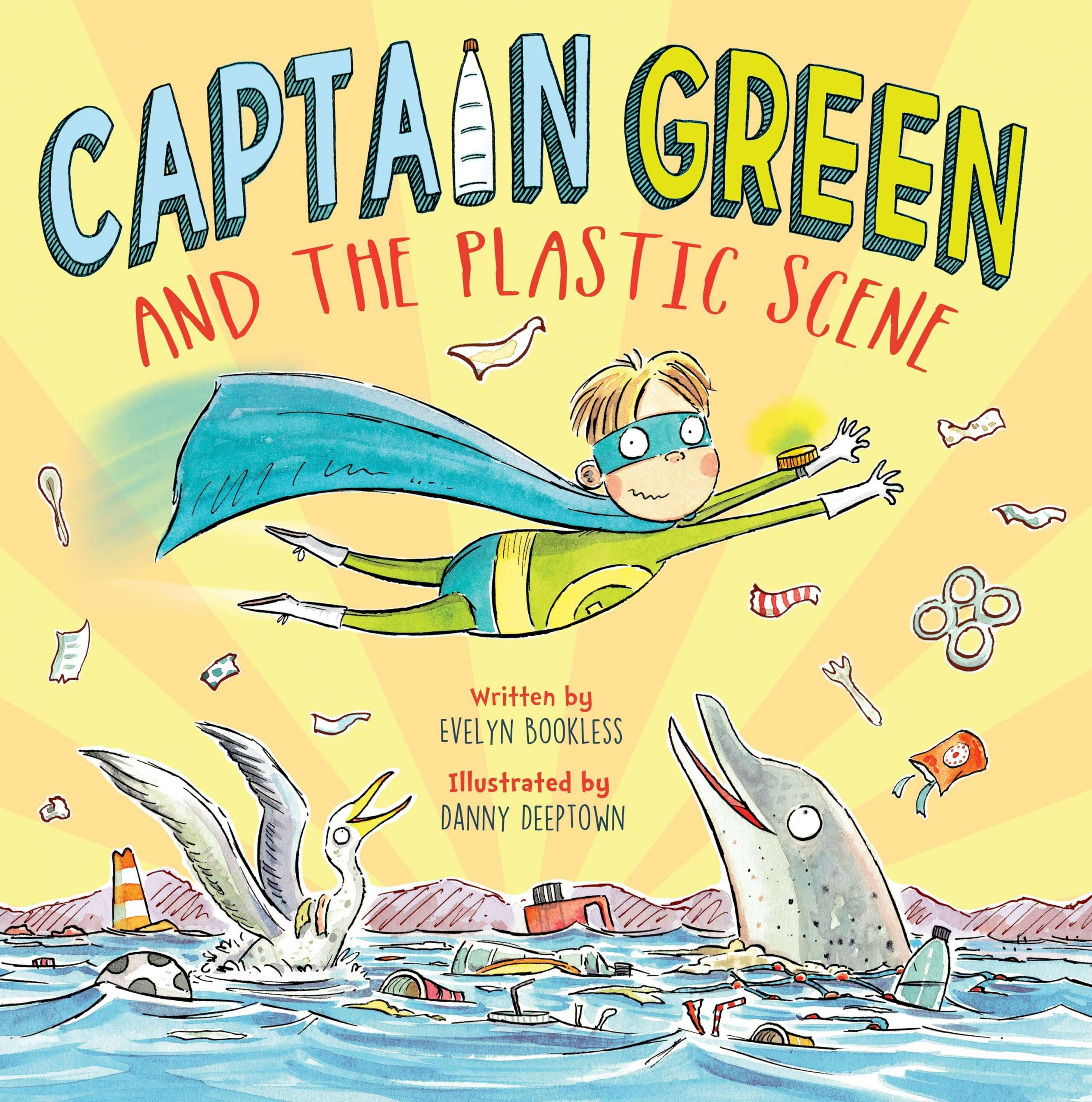 Book: Captain Green and the plastic scene